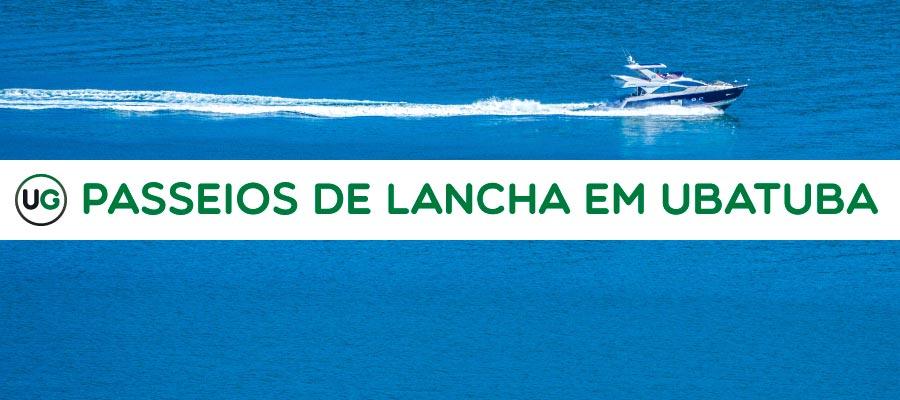 Embarcação navegando em mar aberto - Conheça as opções de Passeios de Lancha em Ubatuba